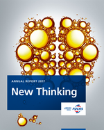 Cover of the Annual Report 2017 of FUCHS PETROLUB SE