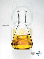 Cover of the Annual Report 2012 of FUCHS PETROLUB SE
