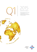 Cover of the Interim Report Q1 2015 of FUCHS PETROLUB SE