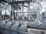 FUCHS automotive oil containers in production