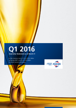 Cover of the Quarterly Statement Q1 2016 of FUCHS PETROLUB SE