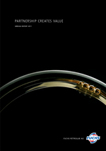 Cover of the Annual Report 2011 of FUCHS PETROLUB SE