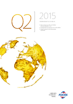 Cover of the Interim Report Q2 2015 of FUCHS PETROLUB SE