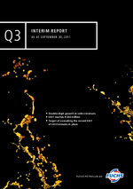 Cover of the Interim Report Q3 2011 of FUCHS PETROLUB SE