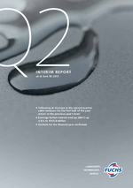 Cover of the Interim Report Q2 2013 of FUCHS PETROLUB SE