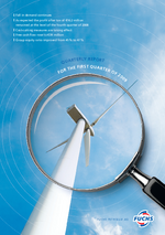 Cover of the Interim Report Q1 2009 of FUCHS PETROLUB SE