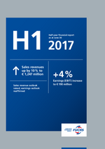 Cover of the Half-Year Financial Report 2017 of FUCHS PETROLUB SE