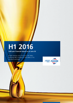 Cover of the Half-Year Financial Report H1 2016 of FUCHS PETROLUB SE