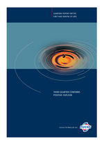 Cover of the Interim Report 2005 Q3 of FUCHS PETROLUB SE