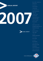 Cover of the Annual Report 2007 of FUCHS PETROLUB SE