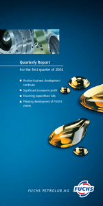 Cover of the Interim Report 2004 Q1 of FUCHS PETROLUB SE