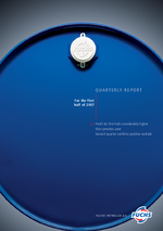 Cover of the Interim Report 2007 Q2 of FUCHS PETROLUB SE