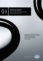 Cover of the Interim Report Q3 2010 of FUCHS PETROLUB SE