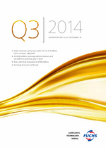 Cover of the Interim Report Q3 2014 of FUCHS PETROLUB SE