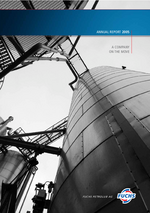 Cover of the Annual Report 2005 of FUCHS PETROLUB SE