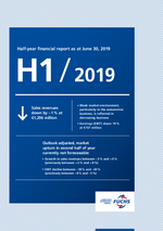 Cover of the Half-Year Financial Report 2019 of FUCHS PETROLUB SE