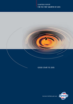 Cover of the Interim Report 2005 Q1 of FUCHS PETROLUB SE