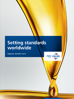 Cover of the Annual Report 2015 of FUCHS PETROLUB SE