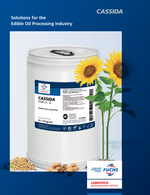 FUCHS Lubricants - Solutions for the Edible Oil Processing Industry Brochure